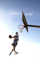 dunk basket