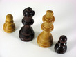 chess pieces as a metaphor