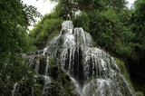 Beutiful cascade in Spain - Monasterio de Piedra