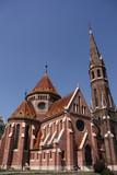 Calvinist church in Budapest poster
