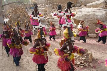 Danse des Masques au Pays Dogon (Mali)