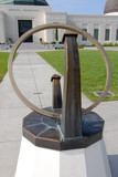 Sundial at Griffith Observatory in Los Angeles poster