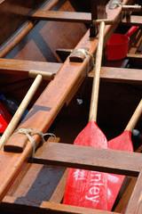 Dragon boat interior