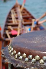 Details of drum on dargon boat