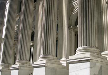 Classical columns,
