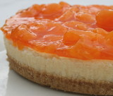 Mandarin orange cheesecake 1