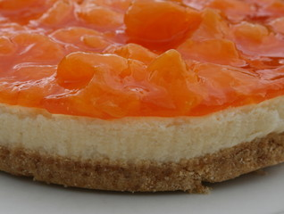 Mandarin orange cheesecake 2