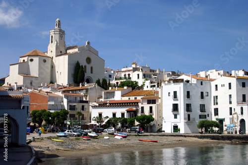Cadaques, A Pretty Fishing Port In Catalonia, Northen Spain