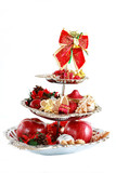 Christmas tabletop isolated poster