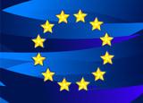 Flag of European Union. poster