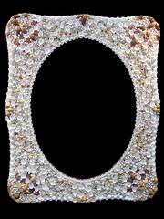 Seashells photo frame