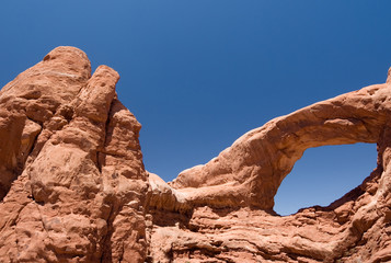 USA. Utah. Moab. Arches National Park. South Window.
