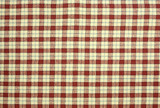 Small Country Plaid Fabric Pattern Background poster