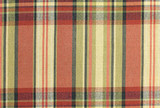 Red Plaid Fabric Abstract Pattern Background poster