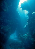 Underwater crack poster