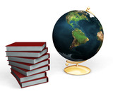 Conceptual image depicting knowledge poster