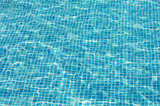 water texture of swimming pool in summer poster