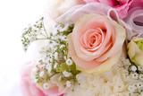 Ślubny bukiet róż - 3594295