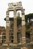 Foro di Cesare.  Forum Romanum in Rome . poster