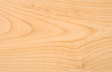 Unpolished beech wood texture without knots poster