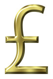 British Pound Symbol poster