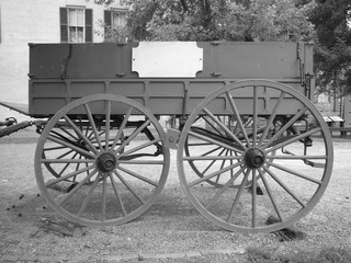 old style cart