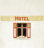 hotel de la plage wissant seaside resort  poster