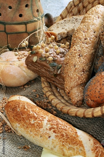 Baked goods still life