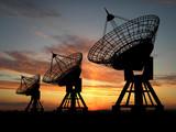 Fototapeta satelita - radaru - Obrazy 3D