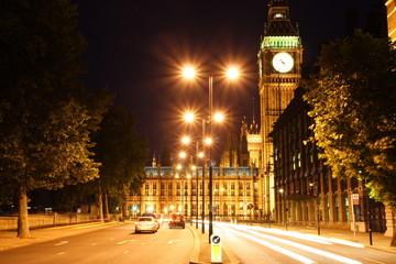Big Ben by midnight