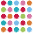 blur color party dots