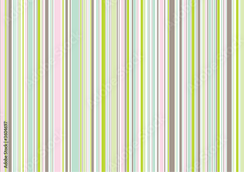retro pastel pink garden stripes