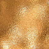 a very large sheet of fine crinkled gold aluminium foil poster