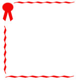 red ribbon scrapbook poster