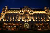 Détails de batiments dans la capitale de budapest poster