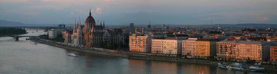 Vue de la ville de Budapest