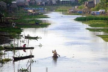 Canal dans le delta du Mekong