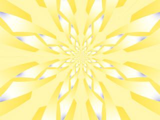 Fiore a scaglie giallo