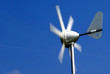 Wind turbine in the sky
