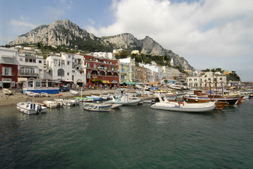 The island of Capri, Itlay