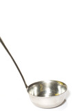 series object on white kitchen utensil - ladle close up poster