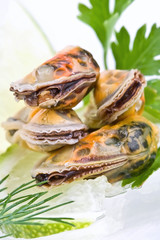 Seafood-mussels