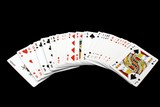 Pack of playing cards. Gambling. Game. poster