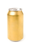 blank soda can with white background poster
