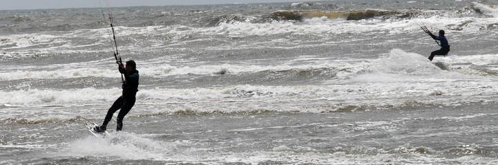 kites surfeurs