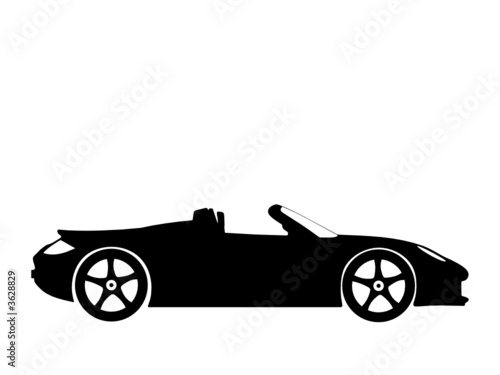 sport car vector 3