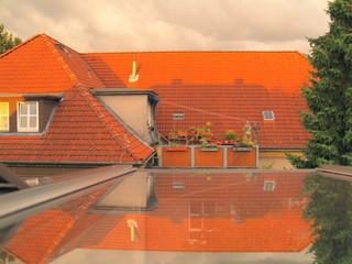 Dachspiegelung - Dach - Spiegelung - Dachterrasse