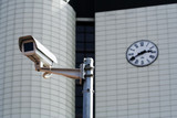 CCTV security camera. poster