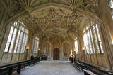 Oxford University, Divinity School Interior poster