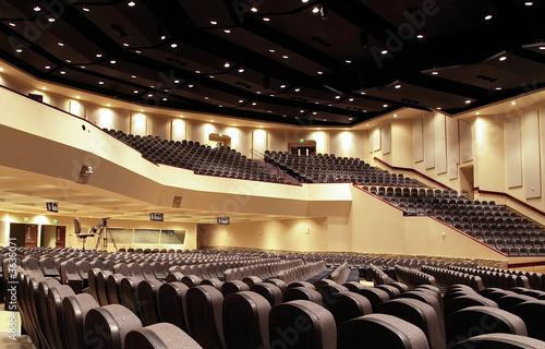 Leinwanddruck Bild Auditorium Interior
